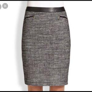 BOSS HUGO BOSS Meluna tweed Pencil Skirt size 6